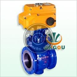 PQ940F/H電動偏心半球閥,電動偏心球閥,凸輪撓曲調節閥中英合資上海精歐閥門