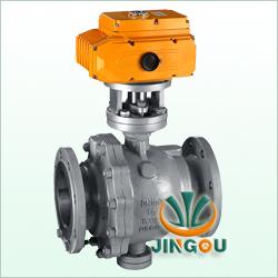 Q947固定式電動球閥,高品質電動球閥中英合資上海精歐閥門