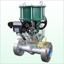 501LG低噪音籠式高壓電動氣動調節閥中英合資上海精歐閥門