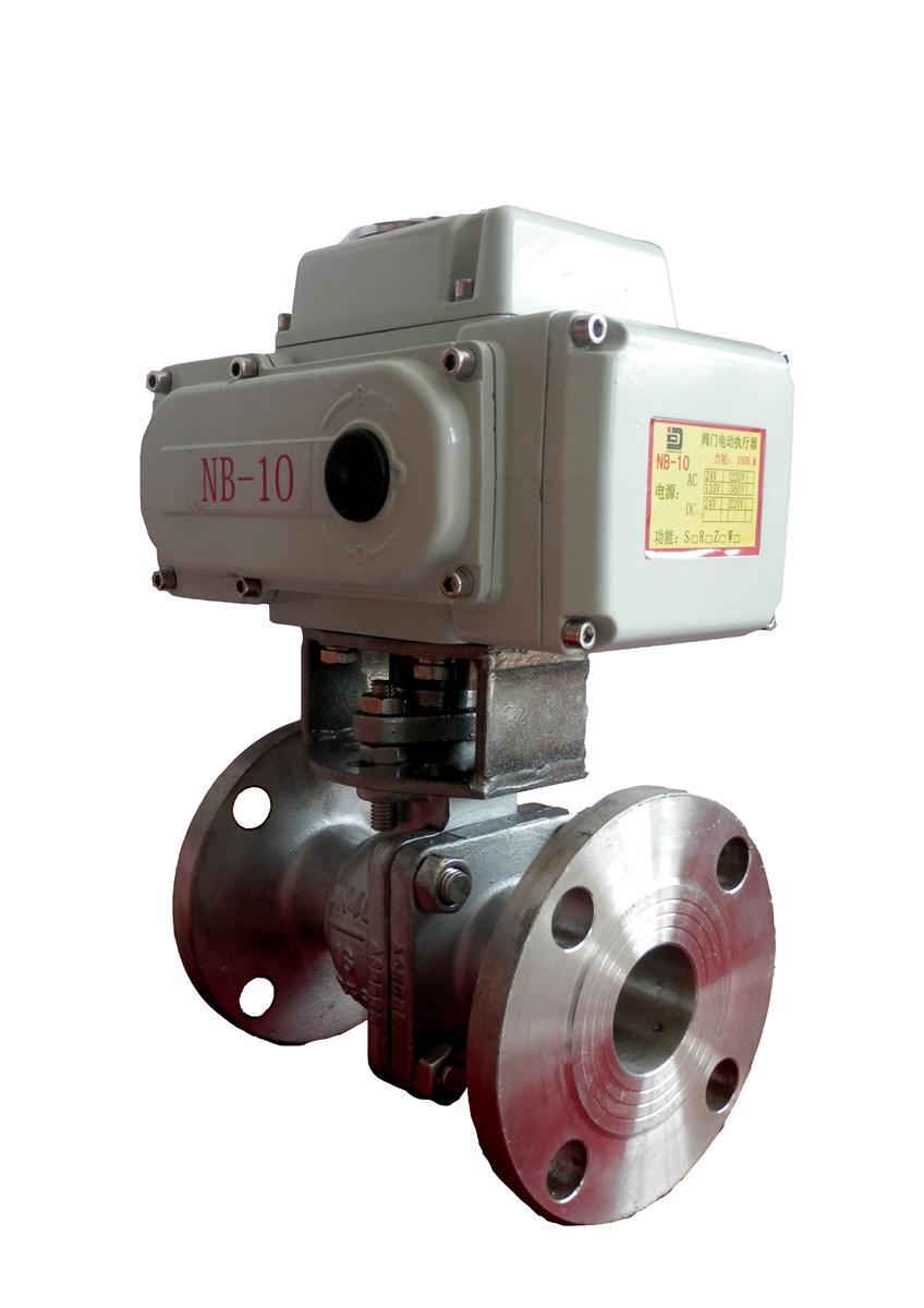 电动调节球阀-Q941F-16P电动球阀-NB系列电动二通球阀