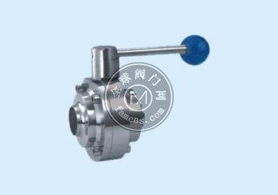 卫生级蝶形焊接球阀Q61F-16P