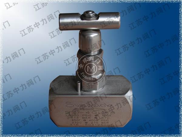 進口高壓針閥_世偉洛克高壓針閥_內螺紋高壓針閥