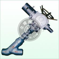 电动直流对焊截止阀,电动高压Y型截止阀