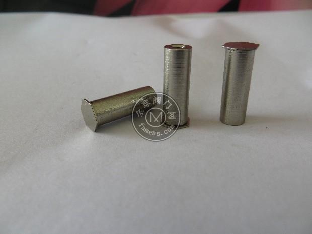不銹鋼/碳鋼盲孔壓鉚螺母柱,盲孔沖壓螺母柱,擠壓螺母柱,薄板螺柱