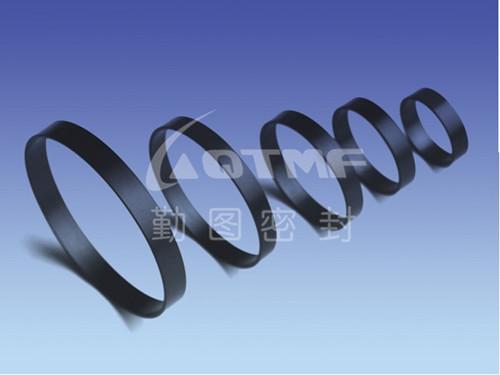 供应四氟耐磨带价格 PTFE耐磨环导向带