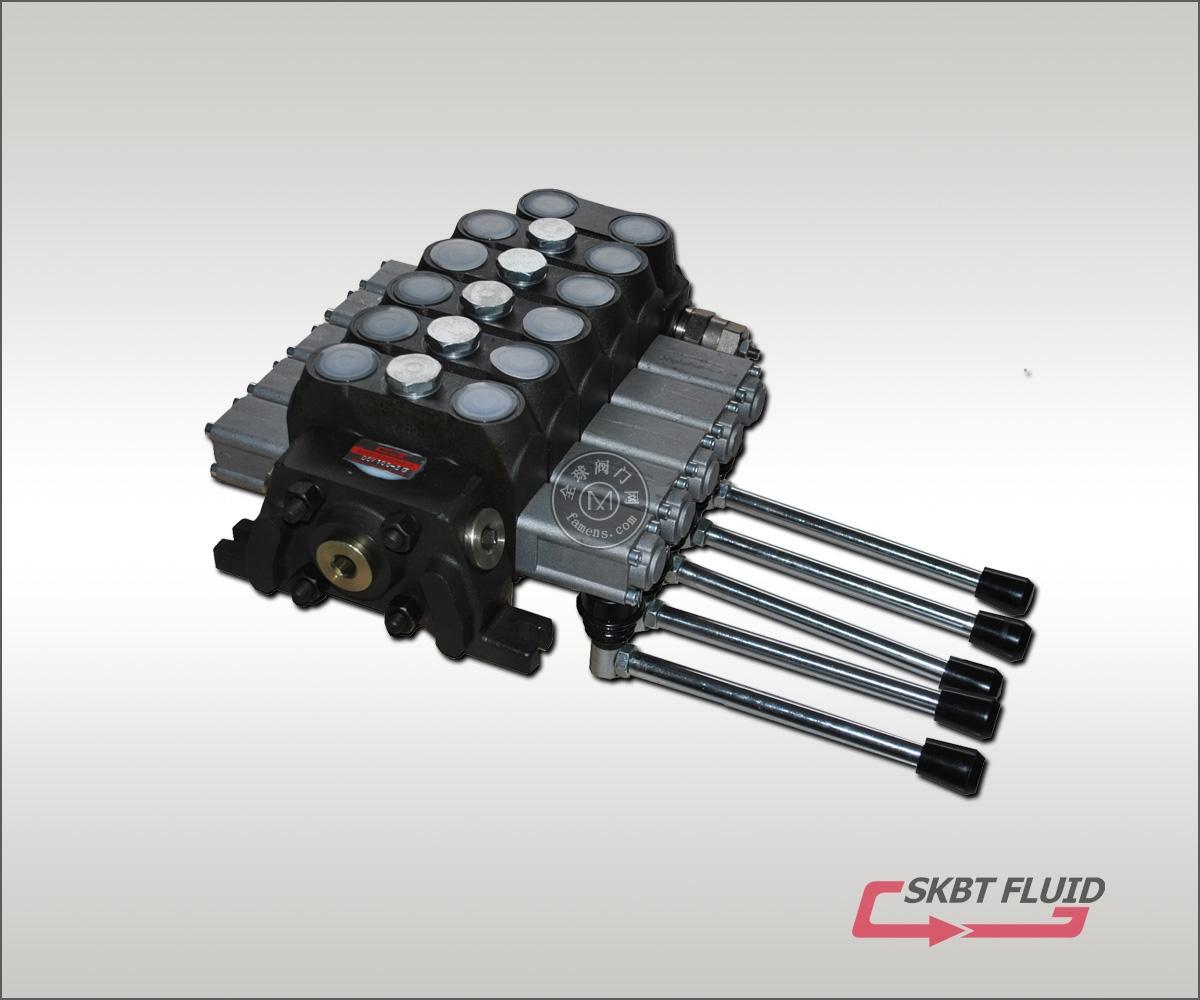 DCV100-5手动多路阀