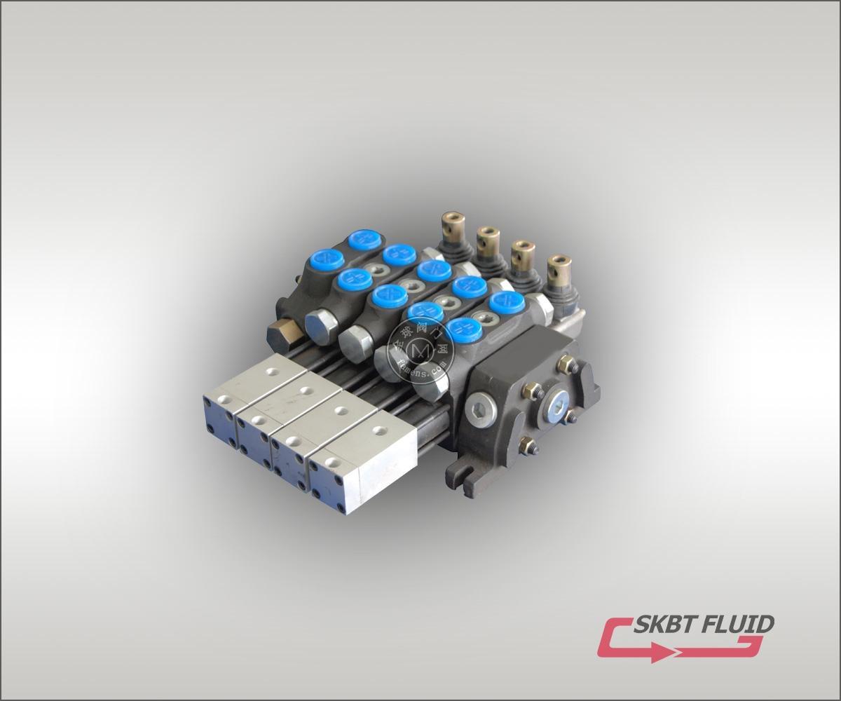 DCV60-4聯氣控多路閥