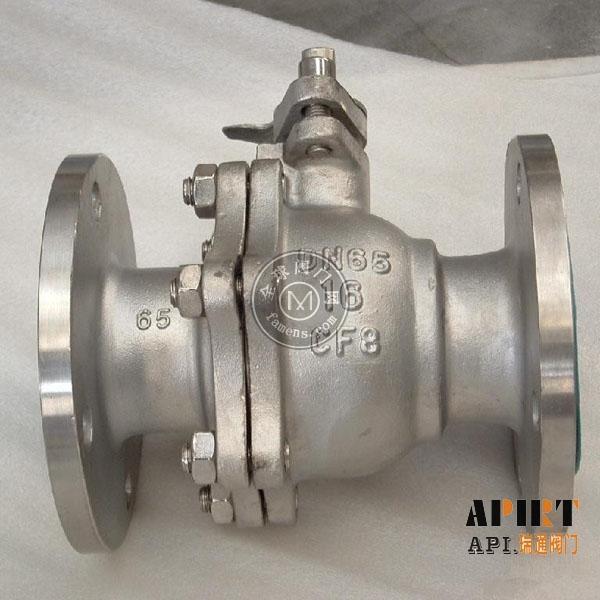 Q41F-16P不銹鋼法蘭球閥