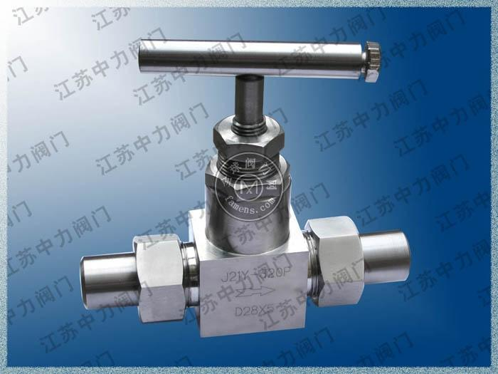 CNG焊接式不锈钢高压截止阀