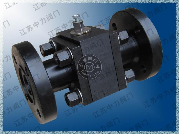 碳钢高压燃气三锻式球阀
