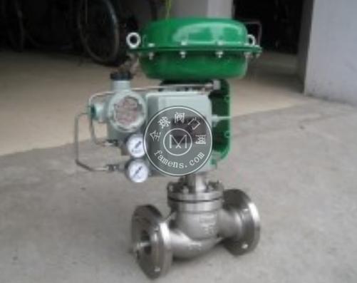 ZMAP低温气动单座调节阀