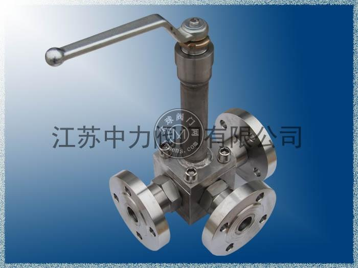 DQ45F低溫高壓三通球閥