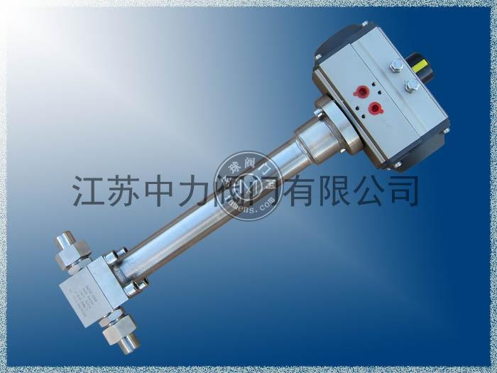 DQ21F低温气动切断阀
