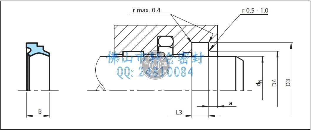 特瑞堡DA 17型防尘圈