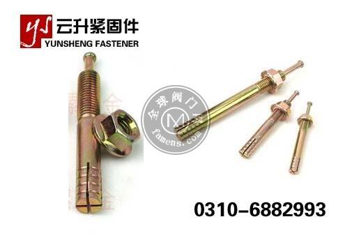 锤击胀栓 击芯胀栓 锤击壁虎 锤击胀管 锤钉壁虎 一钉得 生产厂家