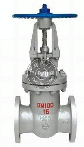 恒锐阀门专业生产铸钢WCB材质Z41H-16C铸钢闸阀