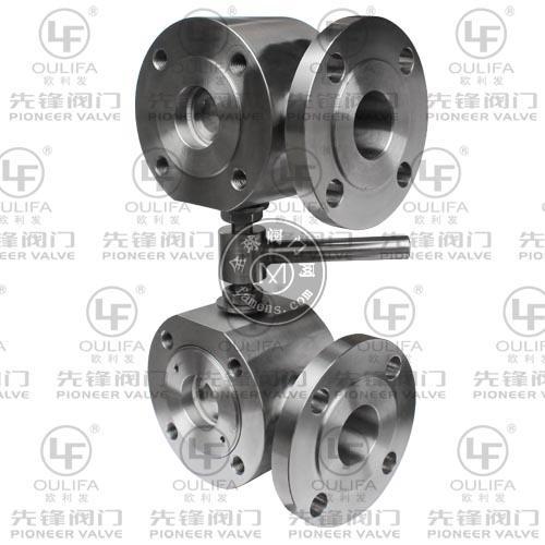 SLQ74F双联超短型三通球阀