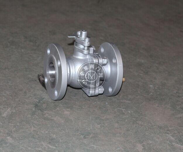 Q41F-150LB美标API602法兰铸钢球阀