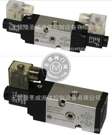 不锈钢单电控 双电控两位五通电磁阀