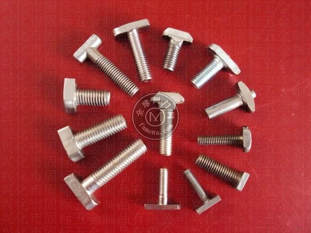 不锈钢T型螺丝 非标定做 非标螺丝
