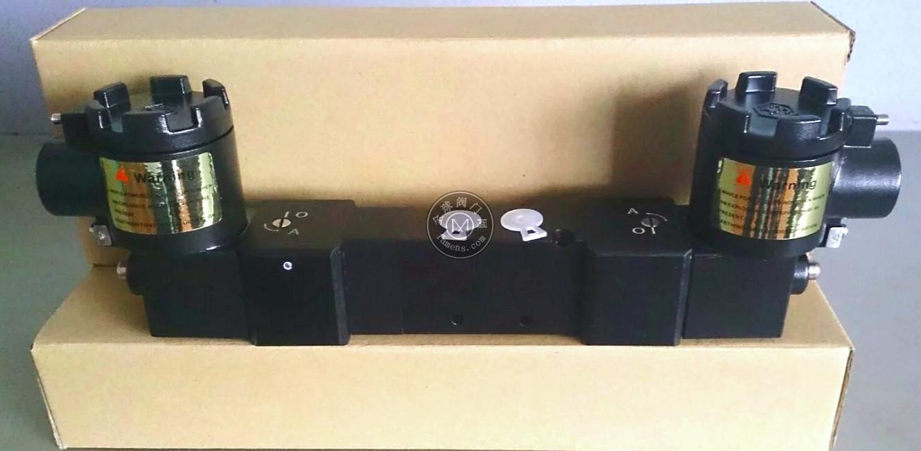 三位五通防爆电磁阀,隔爆电磁阀
