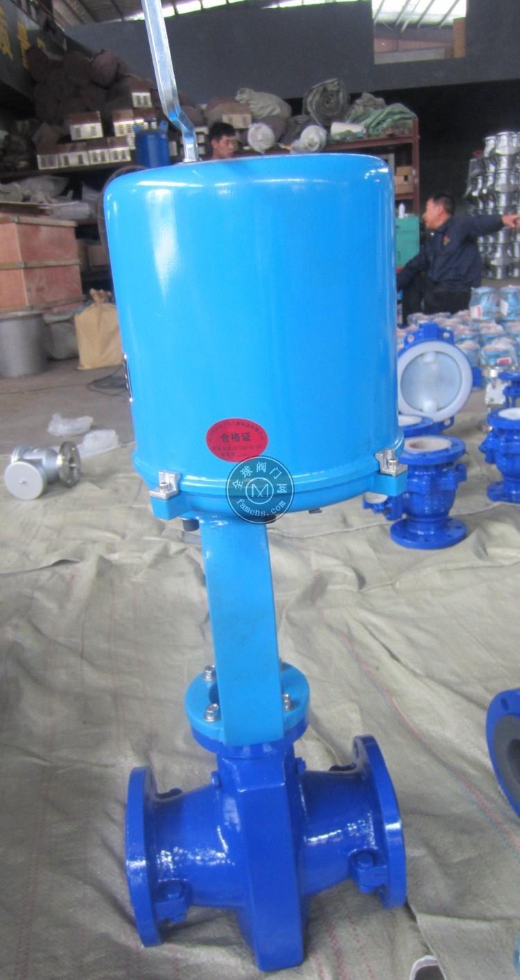 GJ941F电动管夹阀|电动胶管阀|管夹阀