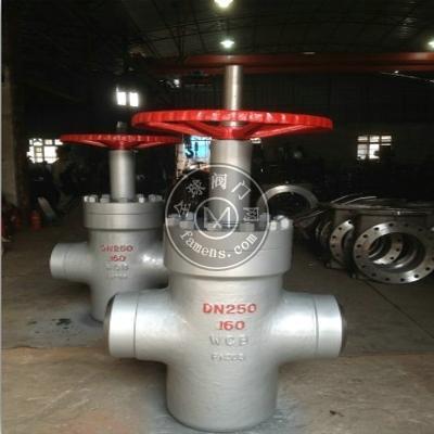 Z63Y-160P高壓不銹鋼焊接平板閘閥