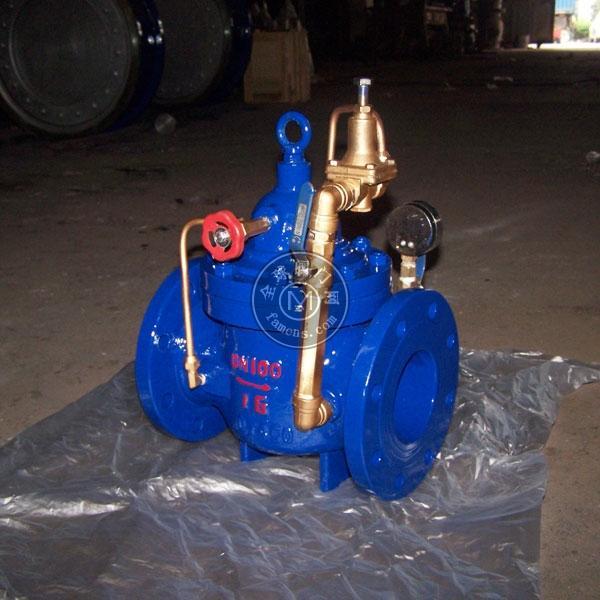 200X鑄鋼水用減壓閥