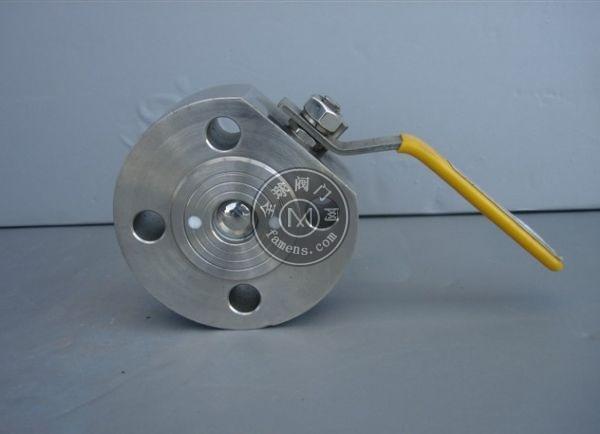 铸钢 超薄型球阀/意大利球阀Q71F-16C法兰球阀DN25DN50DN100