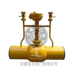 放散式全焊接球阀MFQ361F-25C 双直埋式放散球阀