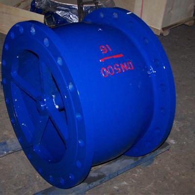永嘉厂家长期直销供应静音止回阀HC41X HC42X DN100