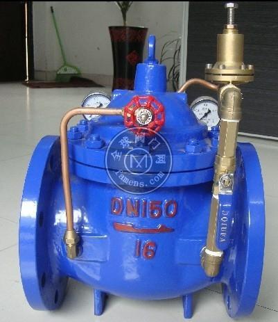厂家长期供应优质可调式减压阀200X稳压阀水利控制阀