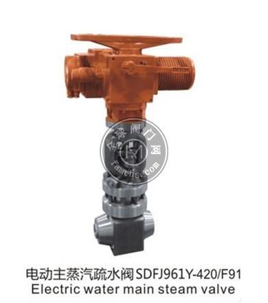 电动主蒸汽疏水阀