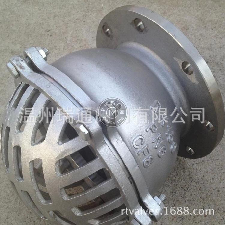 H42W不銹鋼法蘭底閥|國標示蘭底閥