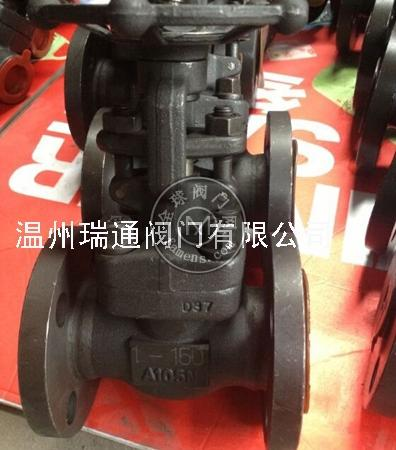 J41H美标锻钢法兰截止阀|美标锻钢截止阀