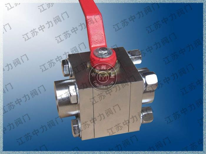 不锈钢承插焊高压球阀