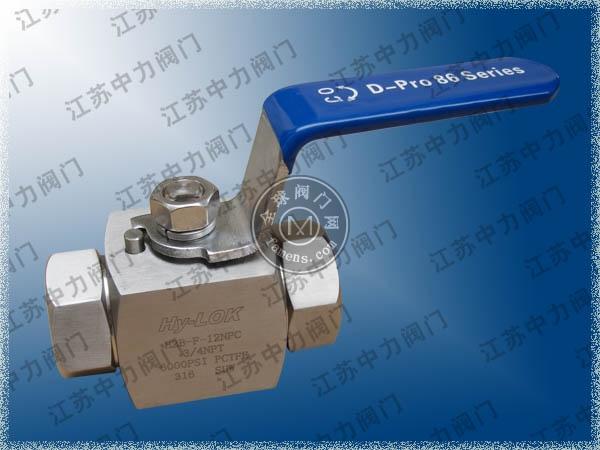 進口6000Psi不銹鋼高壓VTB系列1/4
