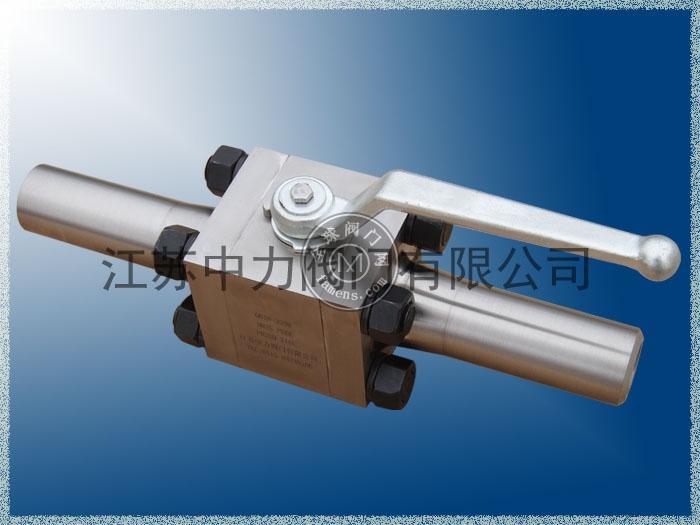 对焊式不锈钢高压加长式球阀