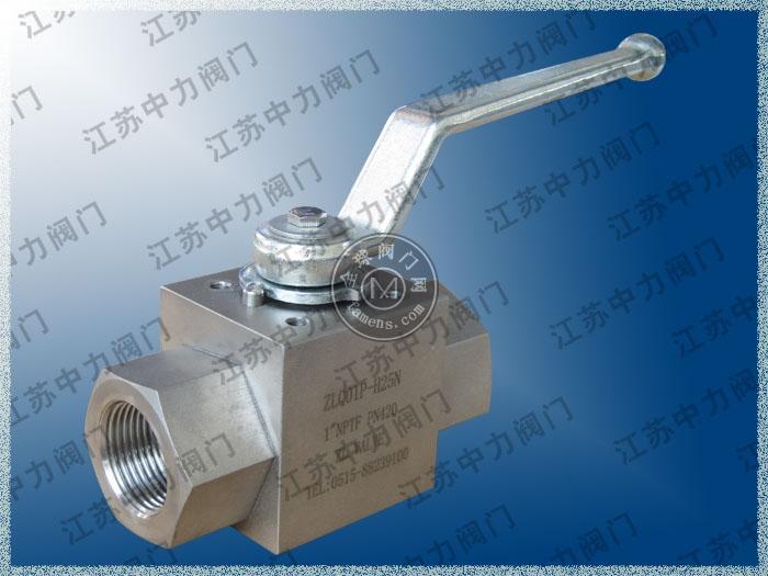 ZLQ01P内螺纹高压进口球阀