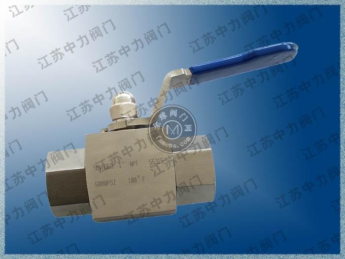 焊接式高压仿进口美标球阀