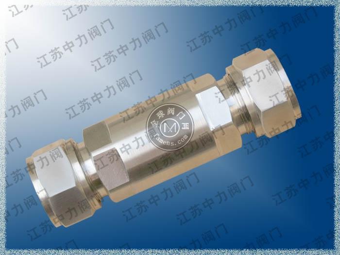 GL91H卡套式過濾器_高壓卡套式過濾器