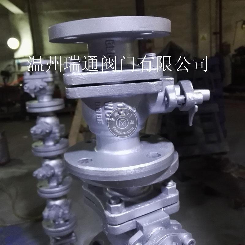 温州美标碳钢球阀厂家