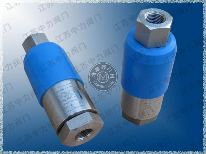 CNG天然气高压螺纹拉断阀型号