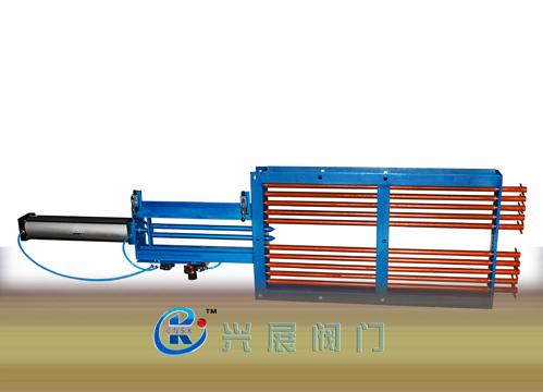 廠家直銷溫州甌北QLB DN150-2000氣動棒條閥,氣動棒條閘門
