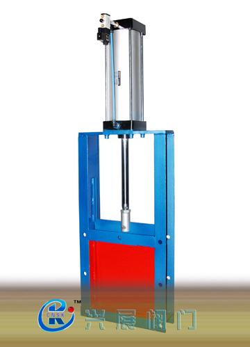 廠家直銷溫州甌北高端品質QLVD-0.6氣動插板閥,氣動平板閘門