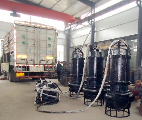 ZNQ系列耐磨潜水排砂泵