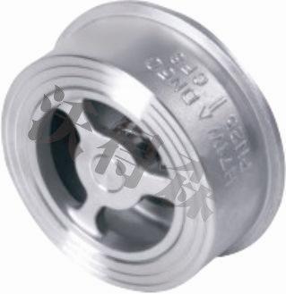H71对夹式升降式止回阀(精铸型)