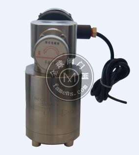 高壓帶手動控制電磁閥