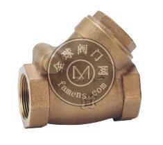 台湾金口-青铜Y型逆止阀FIG.0640