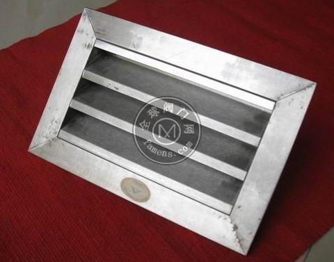 德州亚太出售风口阀门系列产品(不锈钢外墙圆形方形防雨百叶风口)